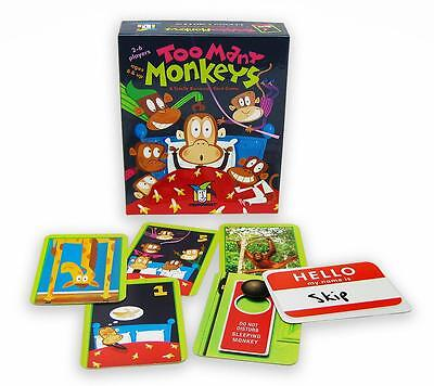 Too Many Monkeys A Totally Bananas Card Game by Gamewright GWI 241