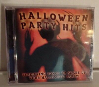 2011 Sony Music CD: Halloween Party Hits Music - Jeepers Creepers Psyco Dracula  - Halloween Party Hits