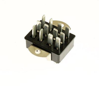 5x Beau Cinch P312ab Jones 12 Pin Plug 38330-0112 Panel Mount Angle Bracket