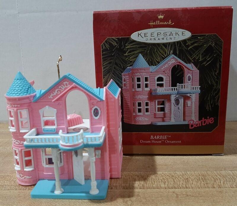 1999 Hallmark Keepsake Ornament, Barbie Dream House ~ Mint Condition in Box