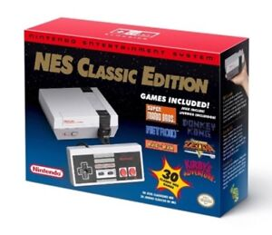 Nintendo NES Classic Edition w/classic edition controller NEW