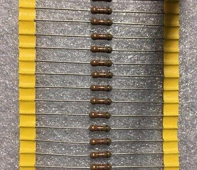 100 Pcs Resistor 510 Ohm 12w 0.5w 500mw 5 Original Oem