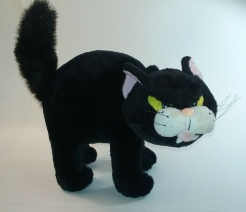 Halloween plush black cat  Fraidy cat Gibson