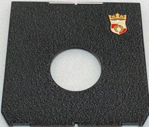 Genuine [Unused]  Wista Flat Lens Board 4x5 Copal #0 Linhof Standard from Japan