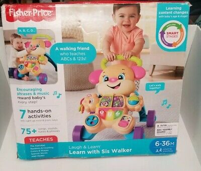 Fisher-Price Baby & Toddler Toys Laugh Learn Smart Stages With Sis Walker
