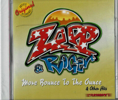 ZAPP & ROGER - MORE BOUNCE TO THE OUNCE - FLASHBACK CD - STILL SEALED for sale  Westlake Village