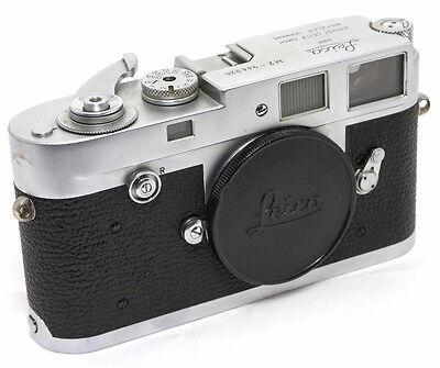 Leitz Leica M2 35mm Sucherkamera Body/Gehäuse in chrome vom Leica Fachhändler