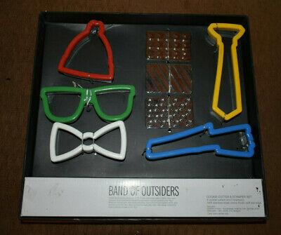 Band Of Outsiders Cookie Cutter & Stamper Set Great for Graduation ()