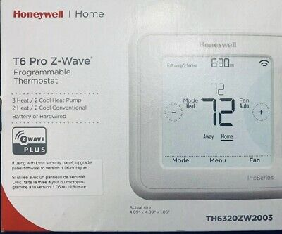 Honeywell T6 Pro Z-Wave Programmable Thermostat  New Box