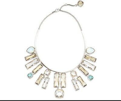 2037f7ce0 NIB $599 Atelier Swarovski Nile Necklace Blue Crystal #5298626