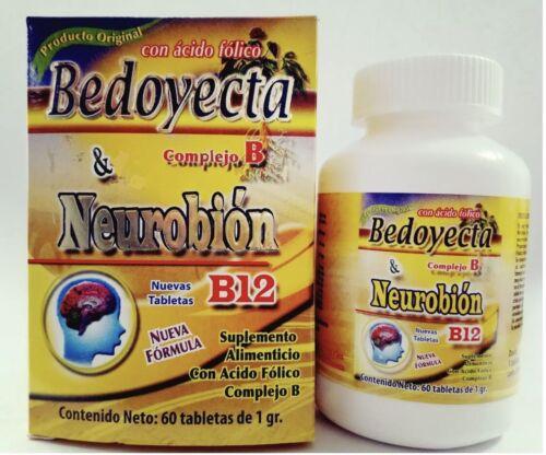 BEDOYECTA and NEUROBION 2 en 1 COMPLEX B, B12, COMPLEJO B, ÁCIDO FOLICO