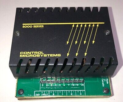 Scadapackcontrol Microsystems 5000 Series Analog Output Model 5302 Free Ship