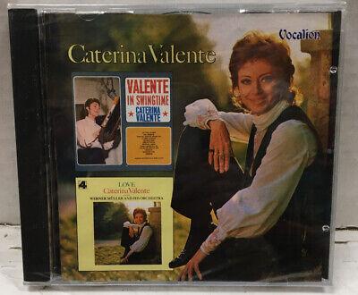 Caterina Valente Valente In Swingtime/Love Sealed UK Import CD
