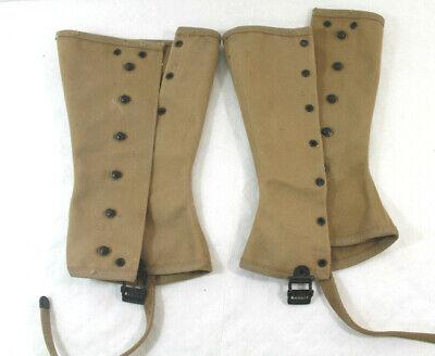 Spats, Gaiters, Puttees – Vintage Shoes Covers Vintage Military Army Leggings Spats Gaiters Khaki Canvas DSA-1 1965 Never Worn $25.00 AT vintagedancer.com