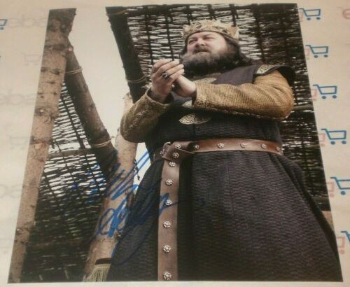 MARK ADDY SIGNED GAME OF THRONES KING CLAPPING STILL 8X10 PHOTO AUTOGRAPH COA