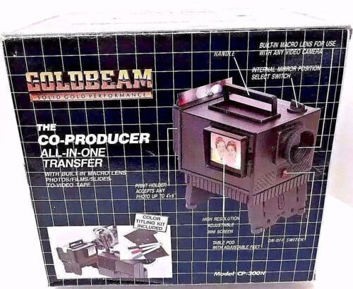 GOLDBEAM Co-Producer All in One Video Transfer System  Model CP-300N NEW IN BOX!