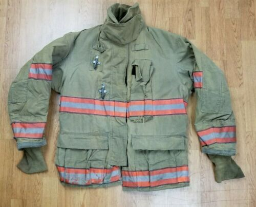Globe GX-7 Firefighter Bunker Turnout Jacket 42 Chest x 32 Length Halloween