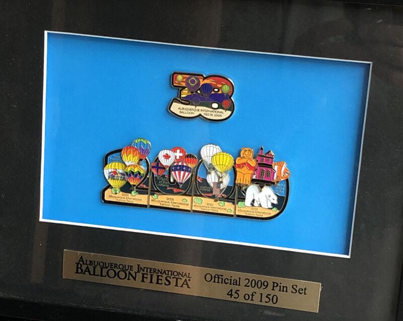 Albuquerque International Balloon Fiesta Official 2009 Pin Set 45 Of 150