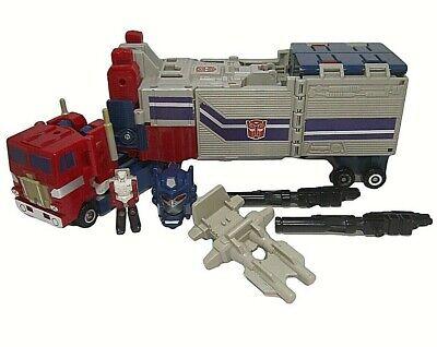 Vintage G1 Transformers Autobot Powermasters - Optimus Prime *99% Complete*