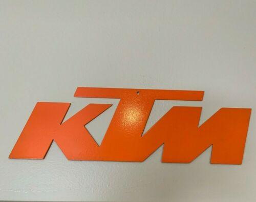 KTM Metal sign
