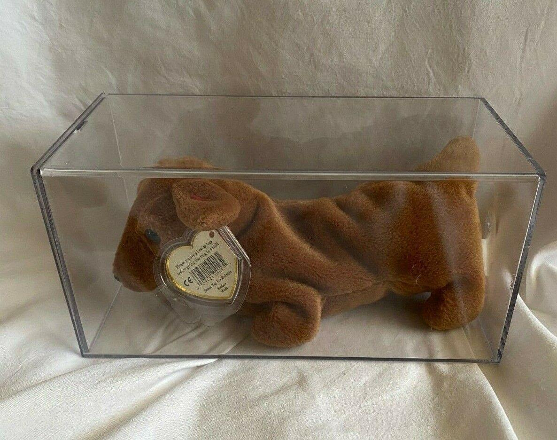 beanie baby weenie the dachshund puppy dog