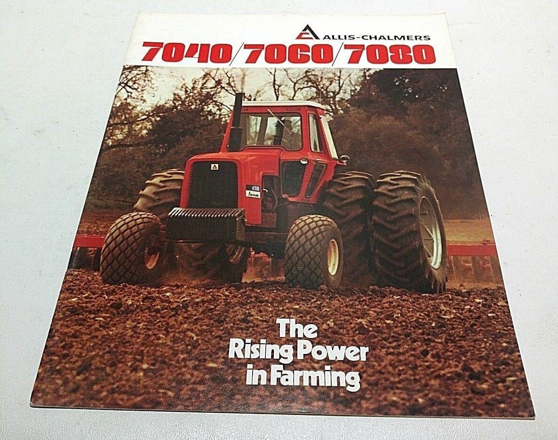 *Allis Chalmers 6080 6060 Tractor Sales Brochure Dealers Literature AC Original