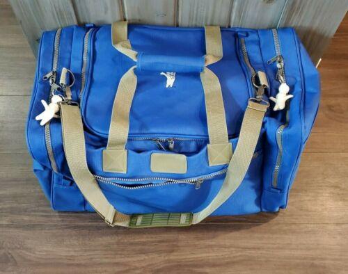 Pillsbury Doughboy Poppin Fresh Heavy Duty Duffle Bag VERY GOOD COND w/ Extras