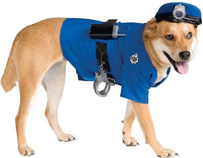 Cop Dog Costume (Morris Costumes Policeman Police Cop Halloween Dog Pet Costume Xl X-Large)