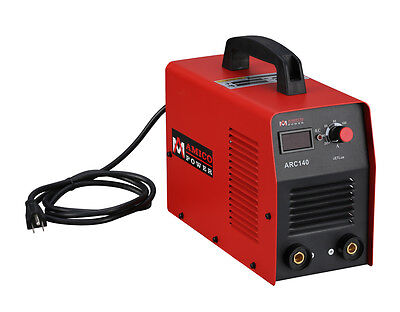 Arc-140 140 Amp Stick Arc Dc Inverter Welder 110v Welding Soldering Machine New