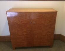 Art Deco Flame Birch cabinet Swedish Scandinavian ex Gamla Lan Woollahra Eastern Suburbs Preview