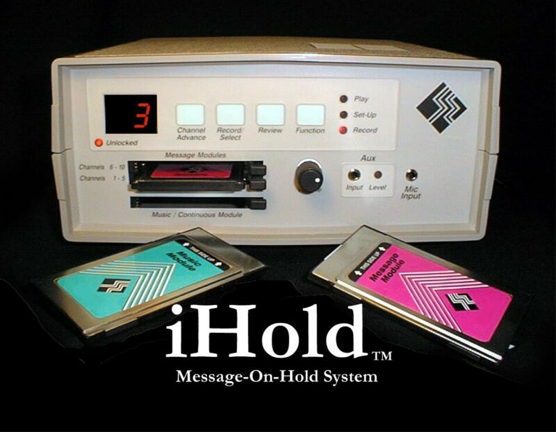 iHold Model IH-1000 Programmable Message-On-Hold System