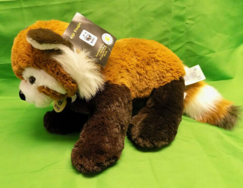 2013 WWF Red Panda Build-a-Bear Stuffed Animal with Ear Tag