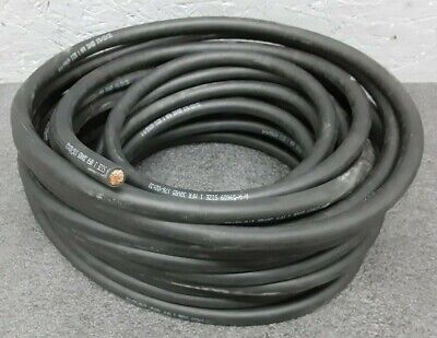 #1 Gauge AWG Black /& Red Welding//Battery Cable 100 FEET of Each Color Made in USA Flex-A-Prene 600 V