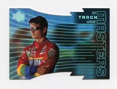Jeff Gordon 1999 99 Upper Deck Victory Circle Track Masters Die Cut Insert Card