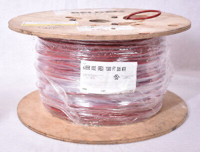 1000 Belden Cable Wire 6 Cond 22awg 7x30 Tc Fep Ins Foil Braid Red Fep Jkt Cmp