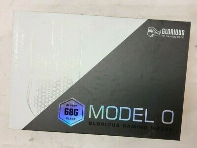 New Glorious 68g Model O RGB LED Gaming Mouse - Glossy White