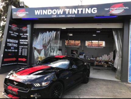 TINT PROFESSIONALS window tinting