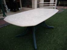 Outdoor Setting Table with Granite Style Top Oakden Port Adelaide Area Preview