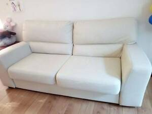 IKEA MARDAL 3-seater sofa, faux leather Lane Cove North Lane Cove Area Preview