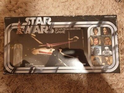 Star Wars Escape from The Death Star Game with Grand Moff Tarkin Action Figure