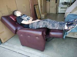 LEATHER Niagara Reclining Massage Chair COST $6,800 Klemzig Port Adelaide Area Preview