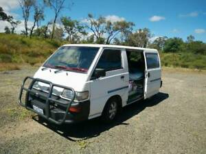 2007 Mitsubishi Express Van/campervan lpg/unleaded WA Rego low km