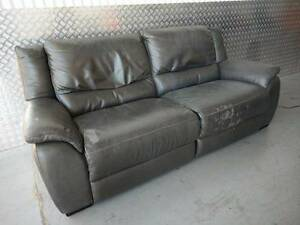 Cheap Electric Recliner 2.5 Seater Sofa LEATHER Oakden Port Adelaide Area Preview