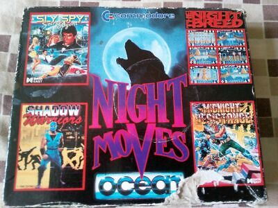 Commodore 64 Games - Night Moves