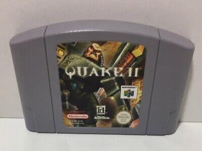 Quake 2 II N64 UK PAL Cartridge Nintendo 64 Actual Item Shown