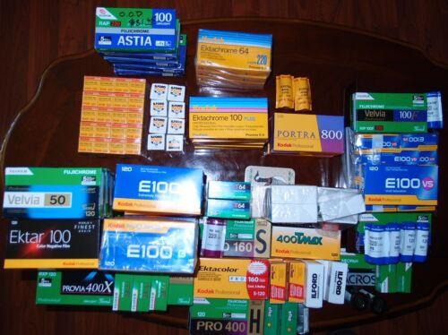 Kodak PROFESSIONAL EKTACHROME E100VS Color slide film 120 ISO100 3 Pack