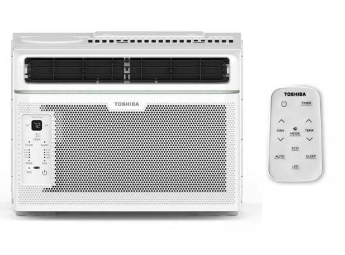 Toshiba RAC-WK0612CRRU Window Air Conditioner 6000-BTU 115-Volt W/ Remote - New!