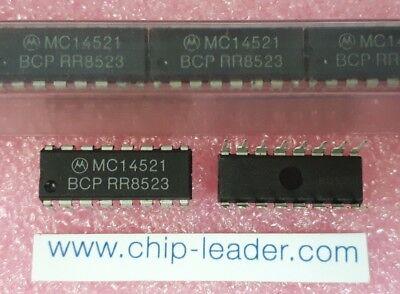 10x Motorola Mc14521bcp Ic Prescaler 1-func Cmos Pdip-16
