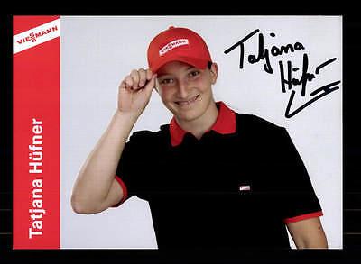 Tajana Hüfner Autogrammkarte Original Signiert Rodeln + A 166875