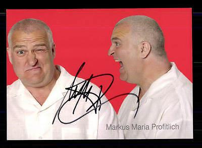 Markus Maria Profitlich Autogrammkarte Original Signiert # BC 86535